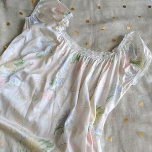 Vintage Floral Nightgown
